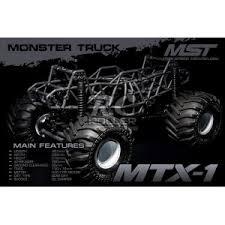 MST MTX-1 RTR <b>Monster truck</b> американский монстр на ...