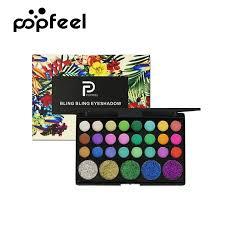 POPFEEl <b>29 Color EyeShadow Palette</b> Matte Waterproof Cosmetic ...