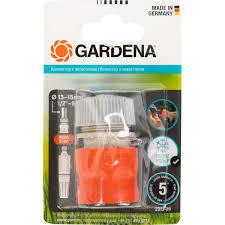 <b>Коннектор</b> для шланга быстросъёмный с <b>автостопом Gardena</b> ...