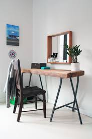 diy home office reclaimed desk via apartmenttherapy diy home office desk recycled