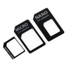 <b>Адаптер Noname SIM</b> - <b>Micro SIM</b> - <b>Nano SIM</b> 3 шт. купить в ...