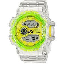 Купить кварцевые <b>часы Casio</b> G-Shock <b>Ga</b>-<b>400sk</b>-<b>1a9er</b> Clear в ...