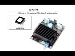 <b>TDA7498</b> Evaluation - YouTube