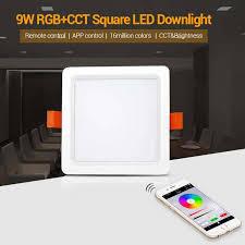 <b>FUT064 9W RGB</b>+<b>CCT</b> Square LED Downlight [<b>FUT064</b>]