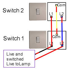 two way light switch wiring diagram  two way switching arrangement    two way light switch wiring diagram