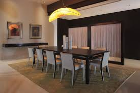 dining room designer furniture exclussive high: wall mounted console table design also quirky dining room light idea feat gray chairs and rectangular