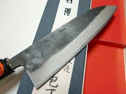 blue steel santoku knife