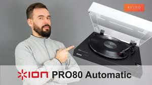 <b>ION</b> Pro80 AUTOMATIC <b>Проигрыватель виниловых</b> пластинок ...