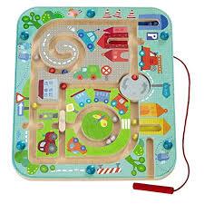 O-<b>Toys</b> Kids <b>Maze</b> Wooden <b>Puzzle</b> Activity Magnet <b>Toys Beads</b> ...