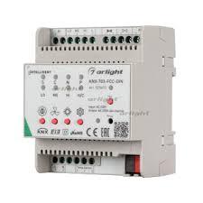 INTELLIGENT <b>ARLIGHT</b> Контроллер фанкойла <b>KNX</b>-703-FCC-<b>DIN</b>