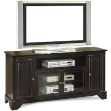 tv stands fi audio rack   inch distressed black tv stand river city