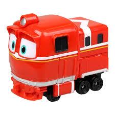 Игрушечный <b>паровозик Silverlit</b> Robot trains <b>Альф</b> (80156 ...