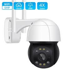 5MP Wifi <b>PTZ</b> Camera <b>H</b>.<b>265 3MP</b> 4X Digital Zoom Human ...
