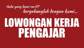 Image result for lowongan guru