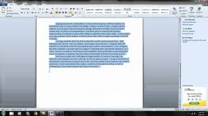 how to format a word document 1 you tube how to format a word document 1 you tube