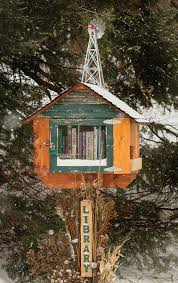 It's a <b>Mailbox</b> … It's a Bird <b>House</b> … No, Wait, It's a Library!   On ...