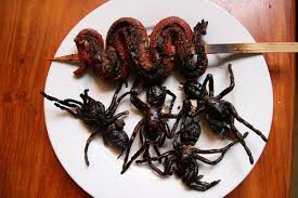 Image result for bizarre foods