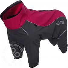 <b>Комбинезон для собак Rukka</b> Windmaster Solid красный 60см ...