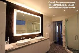 contemporary bathroom lights and lighting ideas bathroom contemporary lighting