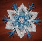Модульное оригами мастер класс снежинки
