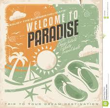 summer holiday retro poster design stock vector image  summer holiday retro poster design