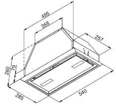 Кухонная <b>вытяжка Kuppersberg</b> (Купперсберг) <b>INBOX</b> 54W ...