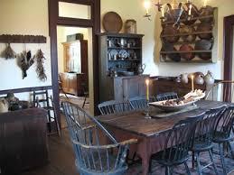 prim dining rooms primitive room taste primitivedaccor   taste primitivedaccor