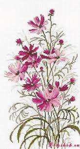 Pin by Mailee Klein on Flower Cross Stitch | Cross stitch patterns ...