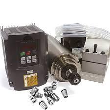 2.2KW <b>Water</b> Cooled Spindle Motor ER20 Kit & 2.2KW 220V Inverter ...