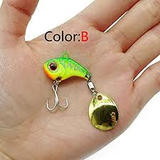 Farleyshop DYYW-Lure, Metal Mini VIB with Spoon ... - Amazon.com