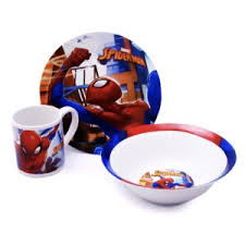<b>Набор посуды ND</b> PLAY Человек-паук Улицы (3 предмета), арт ...