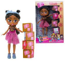 <b>Кукла 1TOY Boxy Girls</b> Nomi с аксессуарами в 4 коробочках 20 см ...