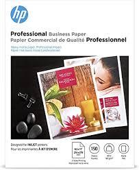 HP Brochure Inkjet Paper, 8.5 x11, Matte, 150 Sheets, <b>180 Gram</b>