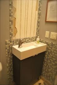 creative composite bathroom sinks black