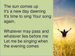 Image result for free new day dawning