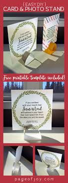 ideas about printable business cards this super simple diy photo display card holder comes together fast use is as