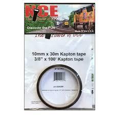 NEW NCE 5240298 KAP10 Kapton Tape 10mm x <b>30m</b> - 3/8'' X 100 ...