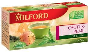 <b>Чай зеленый Milford Cactus</b>-<b>pear</b> в пакетиках