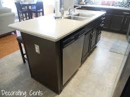 build kitchen island sink: kitchen island with sink and dishwasher on kitchen design kitchen