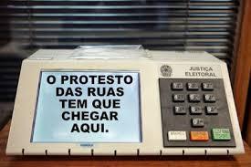 Resultado de imagem para VOTE NULO PARA PROTESTAR