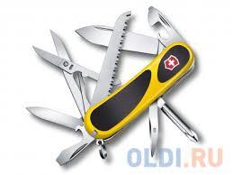 <b>Нож перочинный Victorinox EvoGrip</b> 18 2.4913.C8 85мм 15 ...