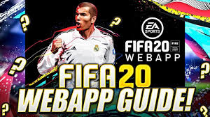 HOW TO START THE FIFA 20 WEB APP! FIFA 20 Ultimate Team ...