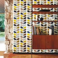 living room orla kiely multi:  multi stem wallpaper walmst seagreen jpg