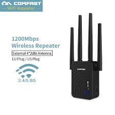 <b>Comfast</b> CF-<b>WR754AC</b> Repeater <b>COMFAST WIFI</b> 2.4G&5G dual ...