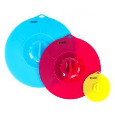 Набор <b>крышек Regent inox Silicone</b>, 3 предмета (26 см, 21.5 см ...