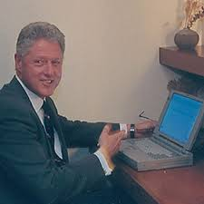 Image result for bill clinton has sent only 2 emails pics
