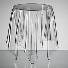 clear acrylic illusion table furniture by john brauer acrylic furniture lucite