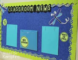 classroom news by linda from around the kampfire bulletin board ideas
