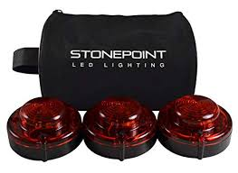 Amazon.com: Stonepoint <b>Emergency LED Road Flare</b> Kit – Set of 3 ...