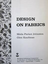 Design on Fabrics Title Page | Elaine Lipson Art Design on Fabrics Title Page